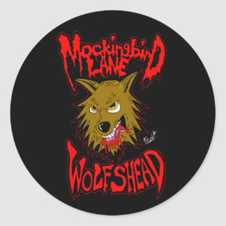 "Mockingbird Lane ""Wolfshead"" Sticker"