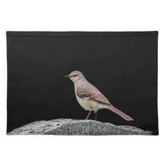 Mockingbird on a tombstone placemat