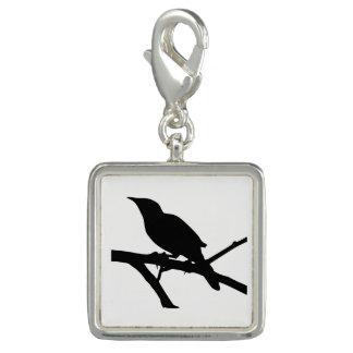 Mockingbird Silhouette Charm