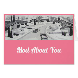 Mod About You Valentine's Card