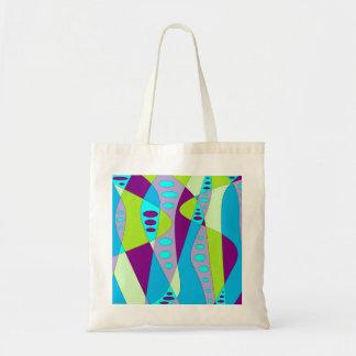 Mod Abstract Budget Tote Bag
