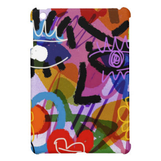 Mod Abstract  Face Digital Drawing Cover For The iPad Mini