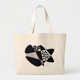 Mod Abstract Jumbo Tote Bag