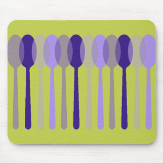 MOD-ART-DESIGN_Spoons-Grape-Olive Mouse Pad