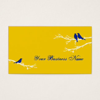 mod birds business card