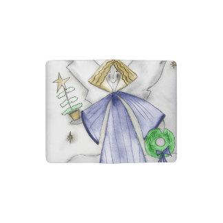 Mod Blue Angel Pocket Moleskine Notebook