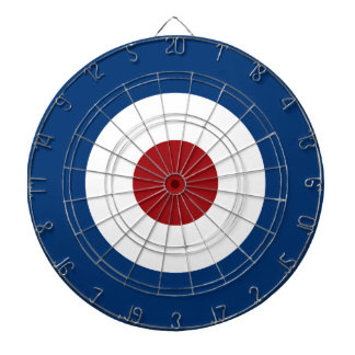 Mod Bullseye Archery Target Dartboard With Darts