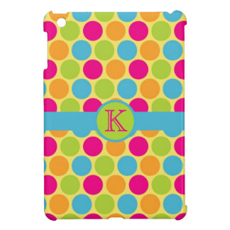 Mod Candy Colours Polka Dot Spots Case For The iPad Mini
