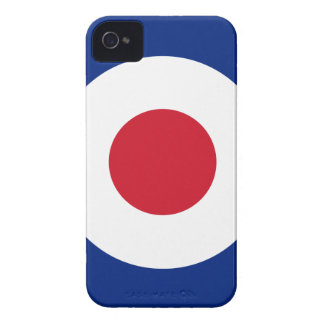 Mod - Classic Roundel - Bullseye Archery Target Case-Mate iPhone 4 Case