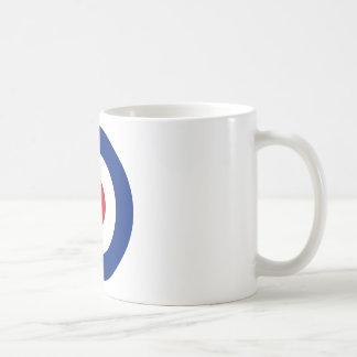 Mod - Classic Roundel - Bullseye Archery Target Coffee Mug