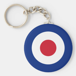 Mod - Classic Roundel - Bullseye Archery Target Keychain