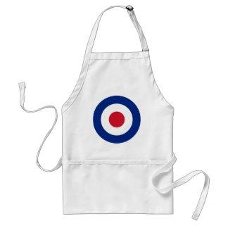 Mod - Classic Roundel - Bullseye Archery Target Standard Apron