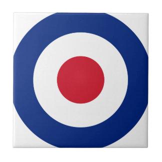 Mod - Classic Roundel - Bullseye Archery Target Tile