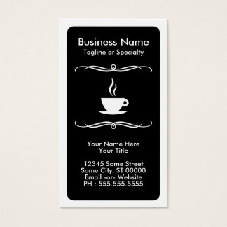 mod coffee stamp card