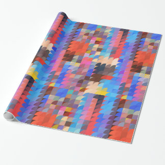 Mod Color Mosaic Wrapping Paper