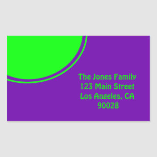 Mod colorful green purple