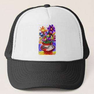 Mod Digital Flower Bouquet 2017 Trucker Hat