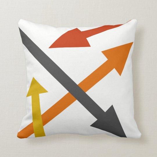 Mod Direction2 Throw Pillow