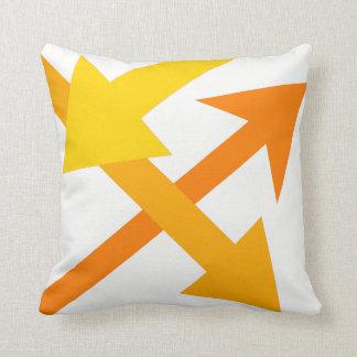 Mod Direction4 Throw Pillow