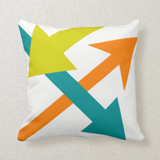 Mod Direction6 Throw Pillow