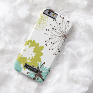 Mod Floral Pattern Personalized iPhone 6 Case