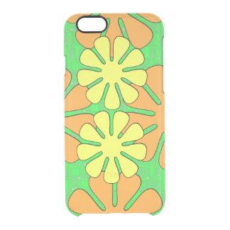 Mod Flower Design Clear iPhone 6/6S Case