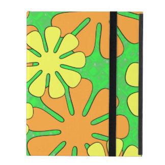 Mod Flower Design iPad Folio Case