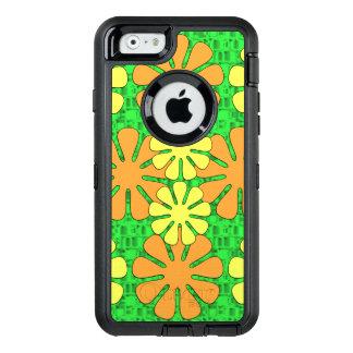 Mod Flower Design OtterBox Defender iPhone Case