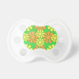 Mod Flower Design Pacifier