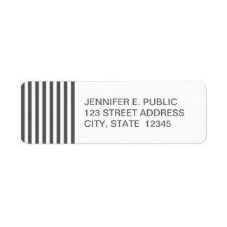 Mod Gray Stripes Pattern