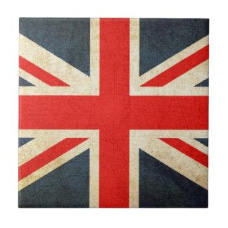 Mod Grunge Union Jack Ceramic Gift Tile