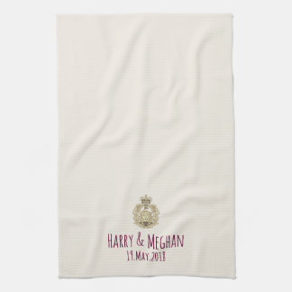 Mod Harry and Meghan Wedding Dish Towel