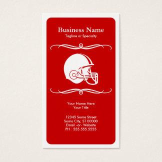 mod helmet business card