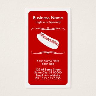 mod hot dog loyalty card