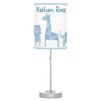 Mod Jungle Nursery Lamp