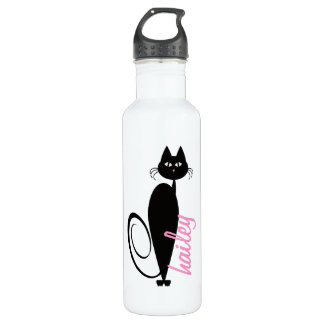 Mod Kitty Personalized Liberty Bottle