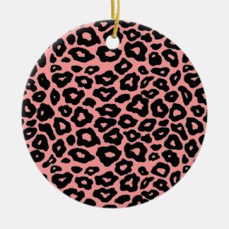 Mod Leopard Ceramic Ornament