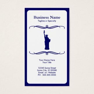 mod liberty business card