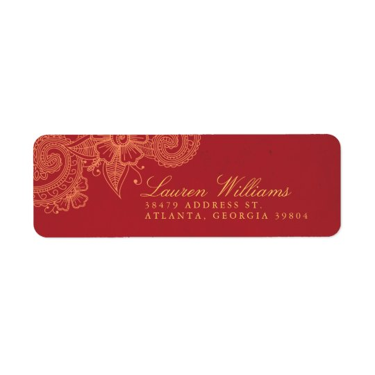 Mod Mehandi Return Address Labels