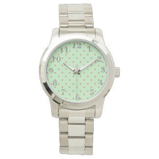Mod_Mint-Dots-Silver-Numbers Wrist Watches