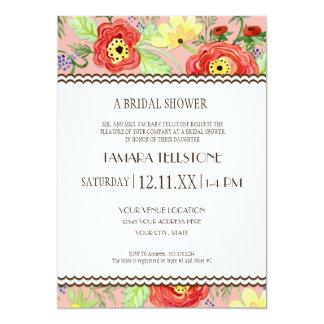 Mod Modern Floral Ranunculus Leaf Rose Bracket Announcements