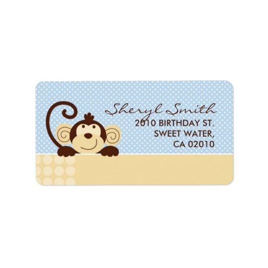 Mod Monkey Address Label