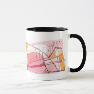 MOD MUG #10 - Whimsical Abstract Art by Torrant