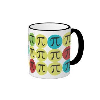Mod Pi  - Colorful Pi Gift Coffee Mugs