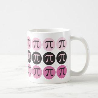 Mod Pi  - Pink Pi Gift Basic White Mug