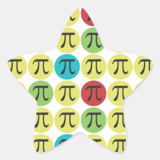 Mod Pi Symbol Stickers - Fun Pi Gift