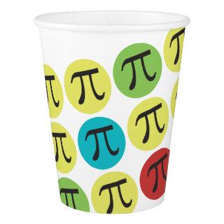 Mod Pi Symbols Paper Cup