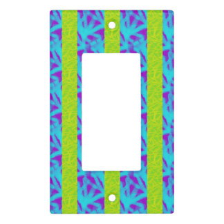 Mod Scribble Stripe Light Switch Cover