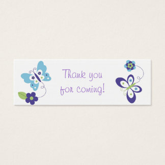 Mod Spring Butterfly Favor Gift Tags