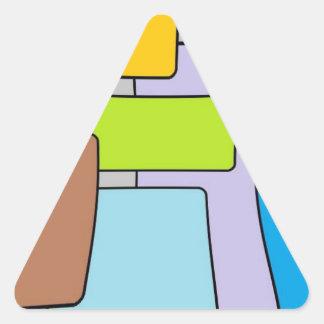 mod squares funky.jpg triangle sticker